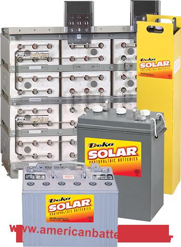 Baterias Energia Solar Deka